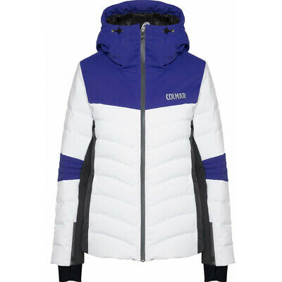SKI JACKET COLMAR 9rt Courchevel 1850 White Cosmo Eclipse