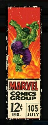 Corner Boxes Hulk Series 1 Wave 2 Topps Marvel Collect Rare 563cc