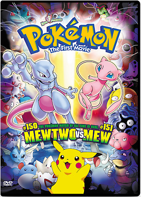 Pokemon The First Movie: Mewtwo Vs. Mew (Dvd)