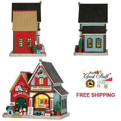 Lemax Village Lighted Building Collection The Dog House Christmas Tabletop Decor