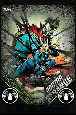 Venomized Series 2 Doctor Strange Topps Marvel Collect *SOLD OUT* -Digital-