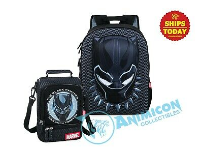 NWT Disney Store Black Panther Backpack Bag School Avenger Boys