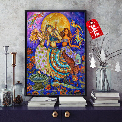 Modern Home Wall Decoration Art Canvas HD Print The Holy Women Oil Painting16x20