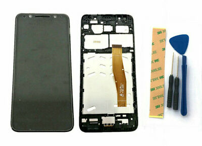 For Alcatel 3 T-Mobile Revvl 2 5052W LCD Screen Touch Digitizer+Frame Assembly