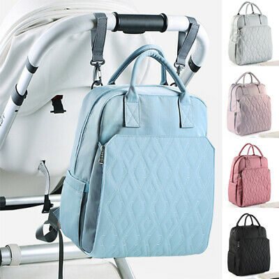 Multifunctional Mommy Bag Large-capacity Diaper Baby Backpack Stroller Straps US