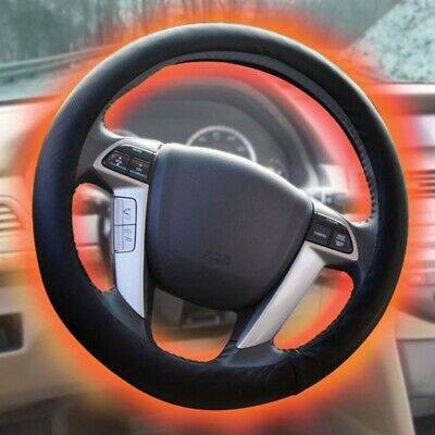 Smart Planet Siaa4 Sharper Image Heated Steering Wheel Cover Fits Any