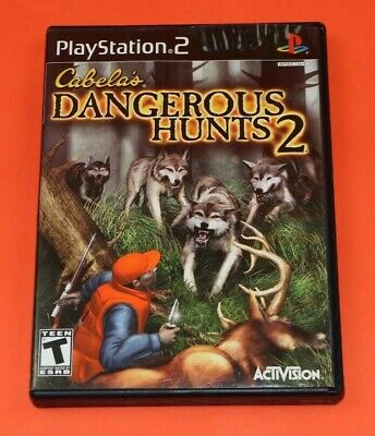 Genuine Cabela's Dangerous Hunts 2 Playstation 2 PS2