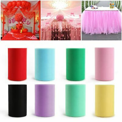 Craft Kids Baby Roll Spool Party Wedding Decor Tulle Tutu Skirts Lace Fabric