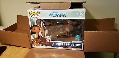 Funko Pop! Rides 2019 SDCC Summer Convention Exclusive Moana & Pua On Boat #62