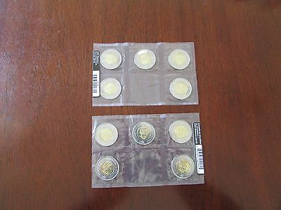 Canada 2012 Royal Canadian Mint Sealed $2 HMS Shannon coins (10 x $2)