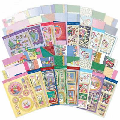 Hunkydory - Golden Oldies - Christmas Crackers Luxury Card Collection - GOLDX101