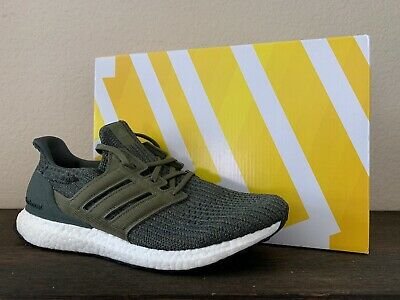 NEW ADIDAS ULTRA Boost 4.0 Legend IvyOlive Size 10.5 Mens