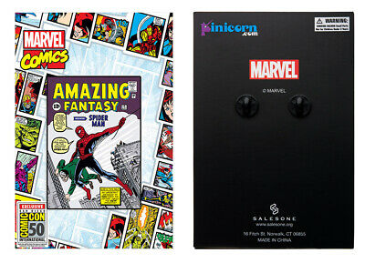 Marvel Amazing Fantasy #15 Spider Man First Enamel Pin 2019 SDCC Exclusive TOYNK