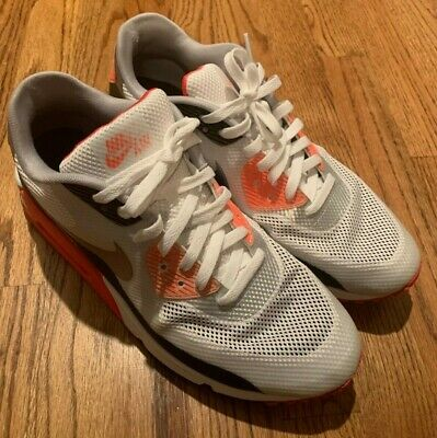 NIKE AIR MAX 90 Infrared Hyperfuse Cement Grey Size Sz 10