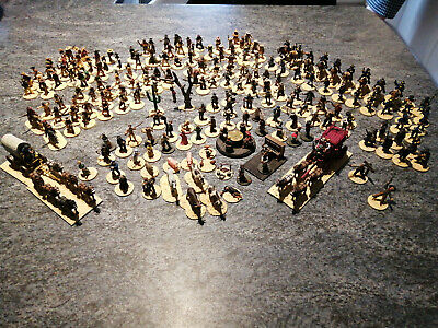 WILD WEST WARGAMES Well Painted 28mm Miniatures Large Collection