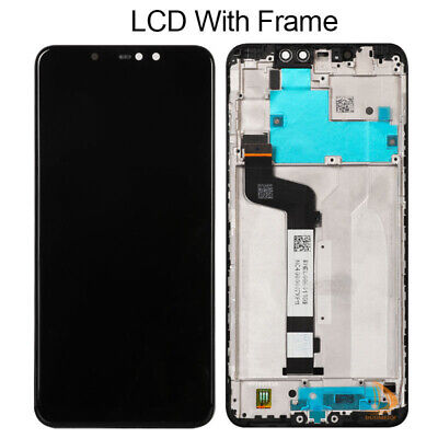 """6.26"""" For Xiaomi Redmi note 6 Pro LCD Display Touch Screen Digitizer with Frame"""