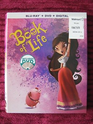 The Book Of Life Blu-Ray Slipcover Only (No Movie) Free Shipping - Rare Htf Oop