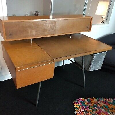 RARE 1946 George Nelson Home Desk for Herman Miller Model 4658 MCM