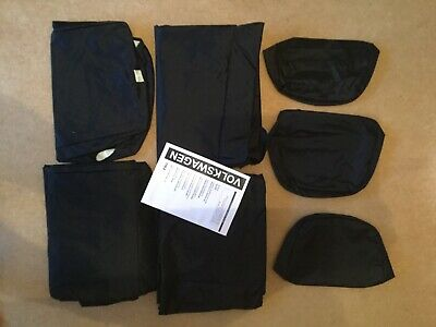 VW Crafter 2010 - 2017 Fully Tailored Seat Covers New Inka Black
