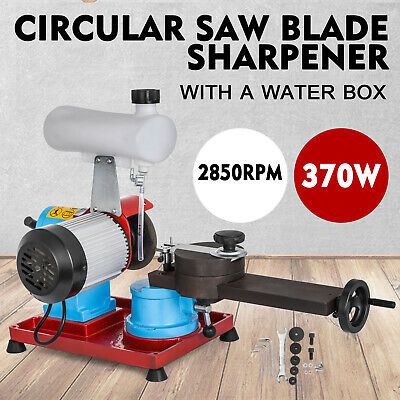 370W Saw Blade Sharpener Water Injection Grinder 125mm Grinding 220V Adjustable