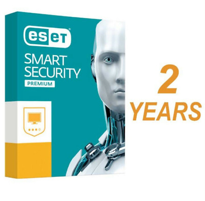 ESET SMART SECURITY 2019 1 PC, 2 Year (Exactly 730 Days)