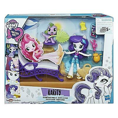 My Little Pony Equestria Girls Rarity Relaxing Beach Lounge Set