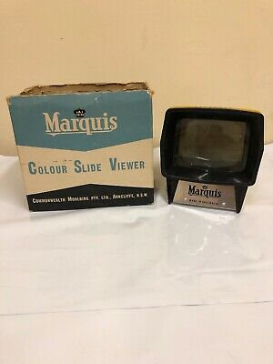 Marquis Colour Slide Viewer Vintage Retro Photo Picture Photography Camera