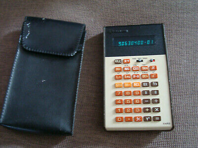 ancienne Calculatrice retro  ROCKWELL modèle 64 RD