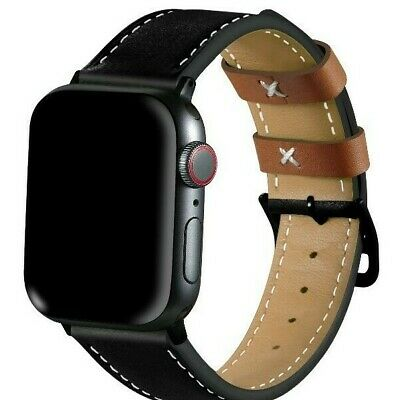 For Apple iWatch Series 5 38/40MM 42/44MM Genuine Leather Apple Watch Band Strap