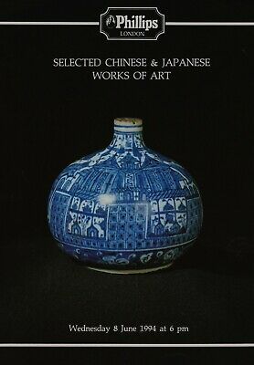 Chinese & Japanese + Islamic S E Asian Ceramics Works Of Art Auction Catalogue