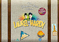 Laurel and Hardy: The Feature Film Collection (Box Set) [DVD] new suitcase &