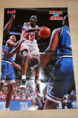 Michael Air Jordan Poster From German Magazine Bravo Sport