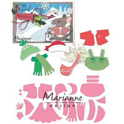 ELINE'S OUTFITS COL1438 - Marianne Design COLLECTABLE DIES