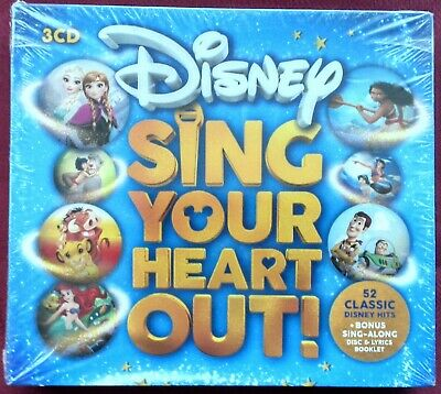 Disney: Sing Your Heart Out (Walt Disney Records) - 3 CD Box Set - New & Sealed
