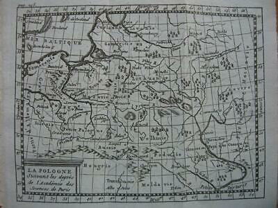 c1750 - BUFFIER - Small map POLAND