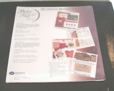 Creative Memories-12x12 Pocket Pages W/ Write In Space-5 Sheets 10 Pages-New