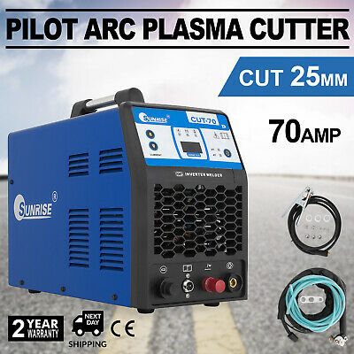 70A IGBT Digital Air Plasma Cutter 380V pilot ARC CNC Compatible Accessories
