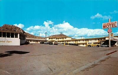 TONOPAH, NV Nevada  GOLDEN HILLS MOTEL  Roadside  NYE COUNTY Chrome  Postcard