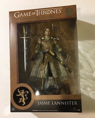 Game Of Thrones Legacy Collection Jaime Lannister Action Figure Toy Sci-Fi King