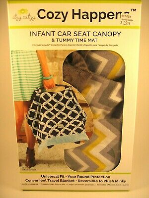 Open Box Cozy Happens Car Seat Canopy - FREE Shipping!