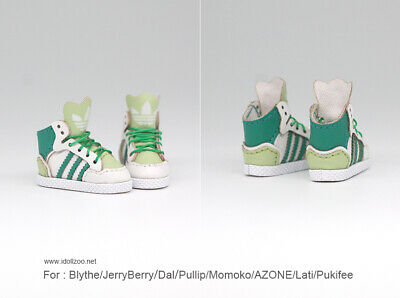 Snow boots Shoes/_GREEN for Blythe//DAL//Pullip//Momoko//AZONE//Lati//Pukifee