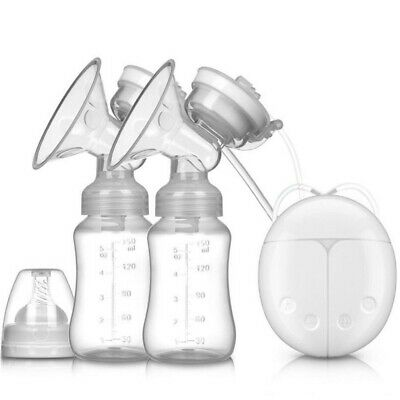 Electric Automatic Double Intelligent Breast Pump Baby Feeder Hands Free USB
