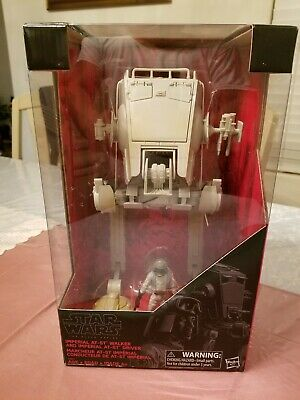 Star Wars Black Series Imperial AT-ST Walker and Imperial Driver Figure