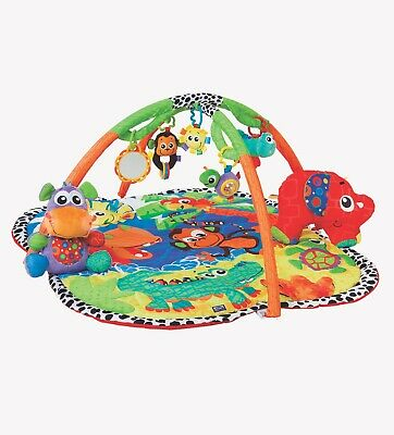 New Playgro Jingle Jungle Music & Lights Large Activity Floor Playmat Gym 0m+