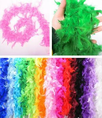 2M Long Pheasant Feathers Tape Arts Craft Hat Costume Cosplay Decor Feather UK