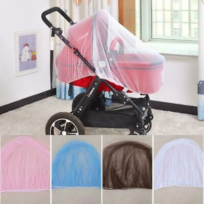 New Stroller Pushchair Pram Mosquito Fly Insect Mesh Buggy Cover for Baby Infant