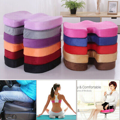 UK Memory Foam Cushion Coccyx Orthopedic Pain Chair Relief Office Seat U Pillow