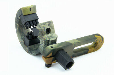 Camo Hostage Holding Brush Arrow Rest Whisker Hunting Compound Archery L/R