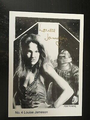 DR WHO EXCELLENT SIGNED PHOTOGRAPH LOUISE JAMESON - POPULAR ACTRESS 42