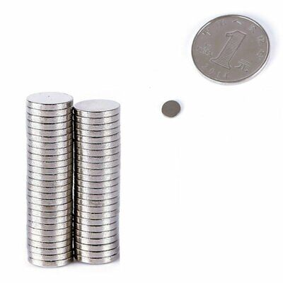 10-100Pc Super Strong Round Disc Rare-Earth Neodymium Magnet N35 Variou Size AU